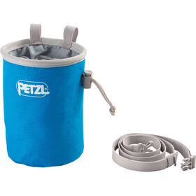 Petzl Bandi Chalk Bag, methyl blue